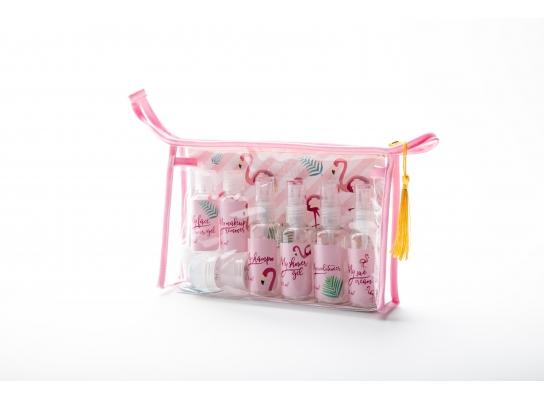 Косметичка для путешествий My travel pack Розовая фото
