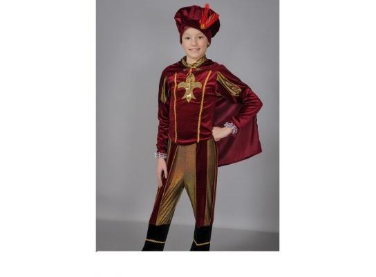 Детский карнавальный костюм Принц фото