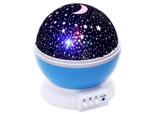 Проектор звездного неба Star Master Dream синий фото