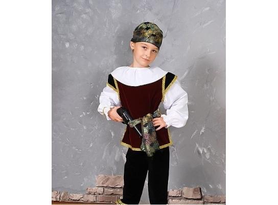 Детский карнавальный костюм Разбойник фото