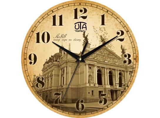 Часы настенные круглые Львов фото