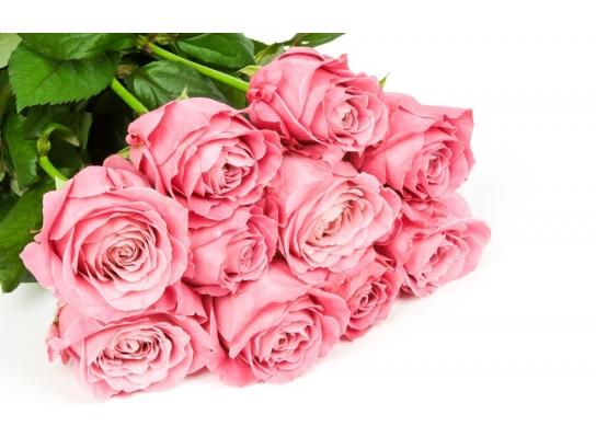 Букет долгосвежих роз Розовый Кварц фото