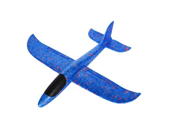 Планер метательный EXPLOSION синий, размах крыльев 49 см фото 3