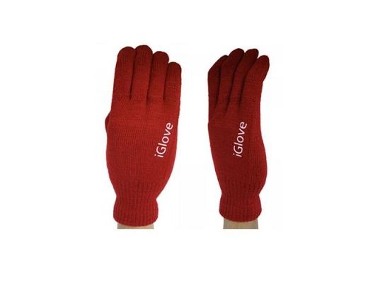 Перчатки для iРhone iGloves Красные фото