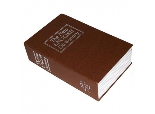 Книга - сейф The New ENGLISH Dictionary Мини фото