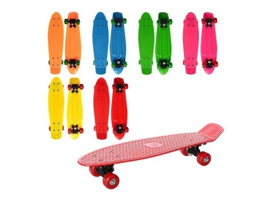 Скейт Penny board колеса ПВХ фото