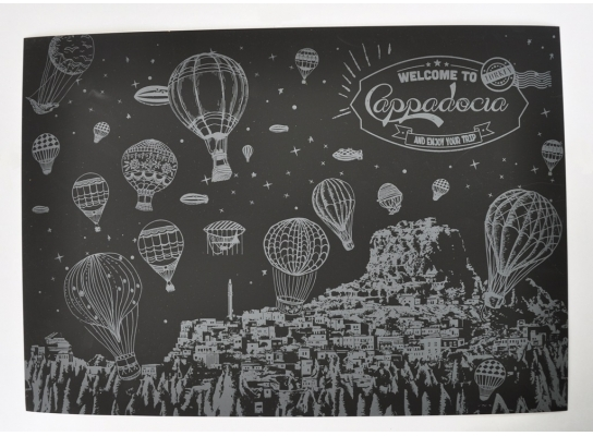 Скретч-картина Ночной Турции
