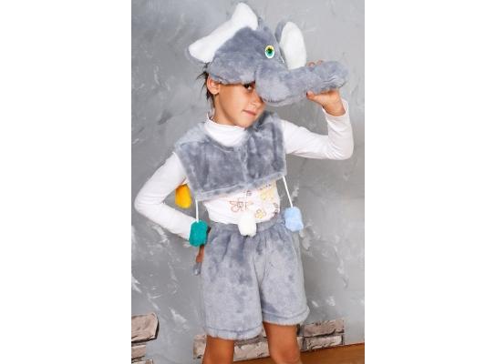 Детский карнавальный костюм Слоник фото