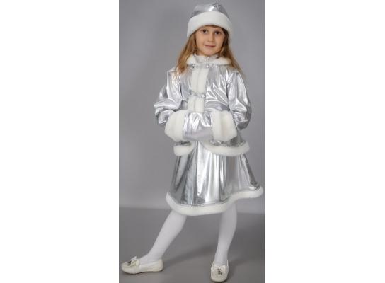 Детский карнавальный костюм Хрустальная снегурочка фото