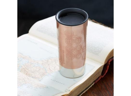 Термокружка Starbucks Rose Gold фото