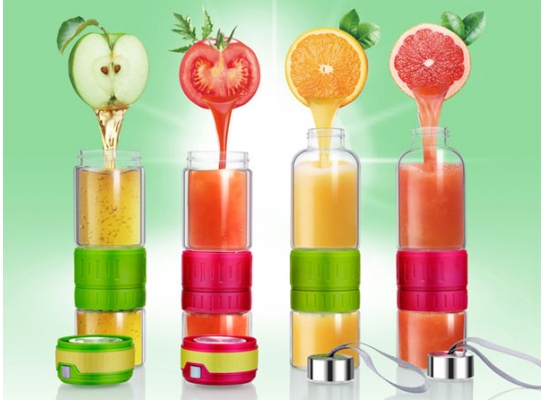 Стеклянная бутылка для лимонадов Фреш фото