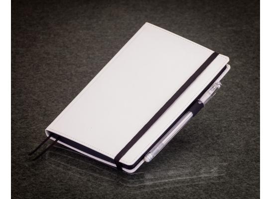 Блокнот с черной бумагой Белый стандарт фото