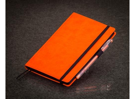 Блокнот с черной бумагой Апельсин стандарт фото