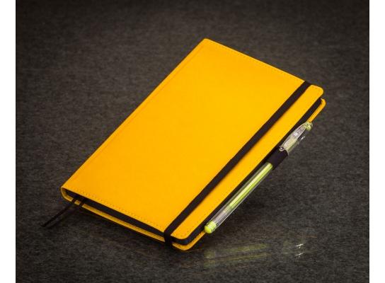 Блокнот с черной бумагой Лимон стандарт фото