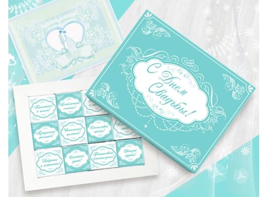 Шоколадный набор Свадебный фото