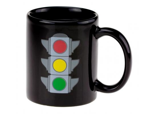 Чашка - хамелеон Светофор фото