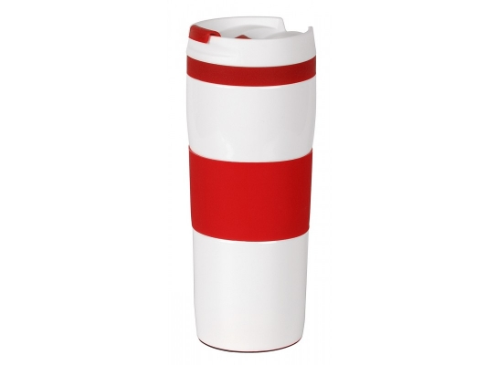 Термокружка вакуумная Красная фото