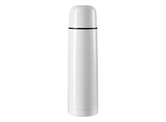 Стальной термос Белый, 500 мл фото