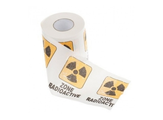 Туалетная бумага Радиация