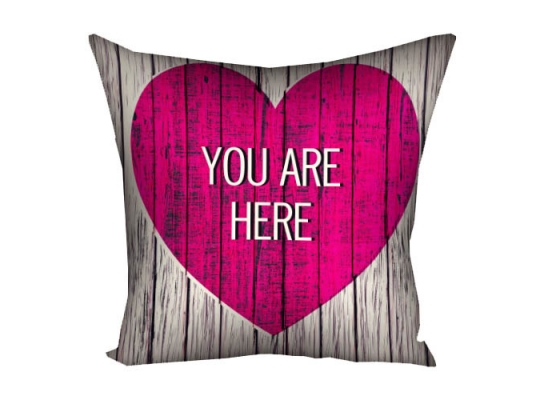 Подушка Ты в моем сердце Мини фото
