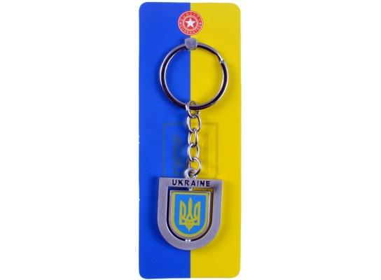 Патриотический брелок Герб Украины фото