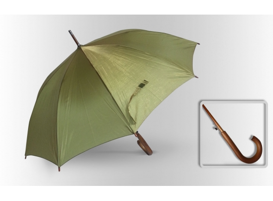 Зонт Антишторм трость Хаки фото