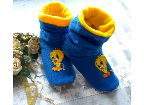 Тапочки Duck синие фото
