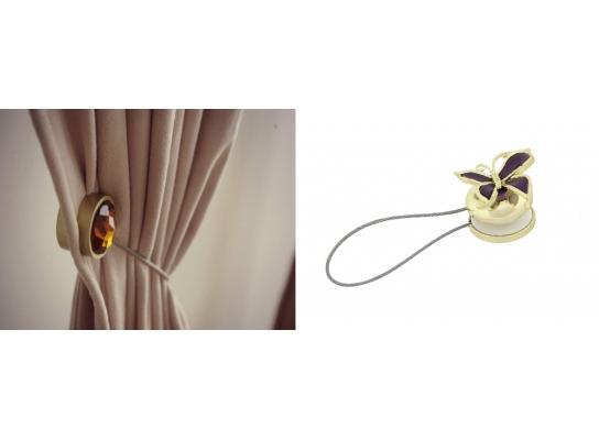 Украшение - держатель для штор Бабочка фото