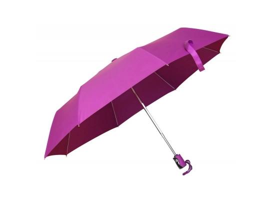 Зонт складной автоматический Розовый Фламинго фото