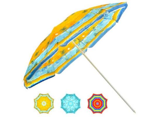 Пляжный зонт с наклоном 1,8 м фото