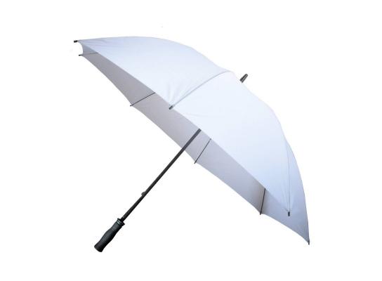 Зонт - трость антишторм 133см Белый фото