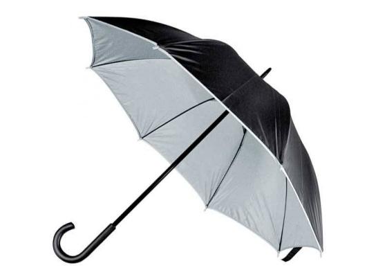 Зонт-трость Кежуал Серый фото