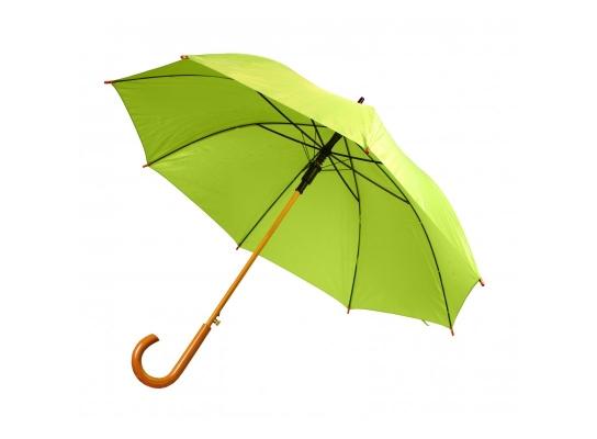 Зонт-трость полуавтомат Лайм фото