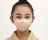 Маска защитная трехслойная многоразовая для детей Бежевая фото 9