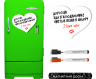 Магнитная доска на холодильник маркерная Любовь фото 1