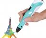 3D ручка c LCD дисплеем 3D Pen-2 Бирюзовая фото