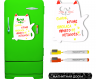 Магнитная доска на холодильник маркерная Pasportu Кот Ашот фото 1