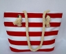 Пляжная текстильная сумка для детей и подростков в полоску фото