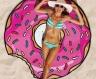 Пляжный коврик Пончик фото