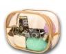 Прозрачная косметичка для бассейна/сауны/путешествий (бежевая), купить, отзывы, цены, фото