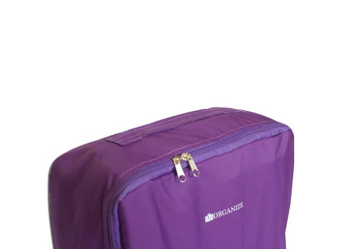 5ff1dd6526ef ... фото Дорожные сумки-органайзеры в чемодан ORGANIZE фиолетовые 5 шт,  купить, цена, ...